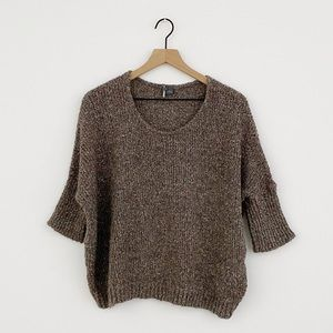 Sparkle & Fade Brown Women's Sweater Size XS